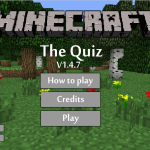 Play Minecraft Quiz