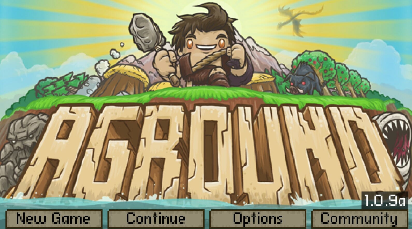 Play Aground Mining Game