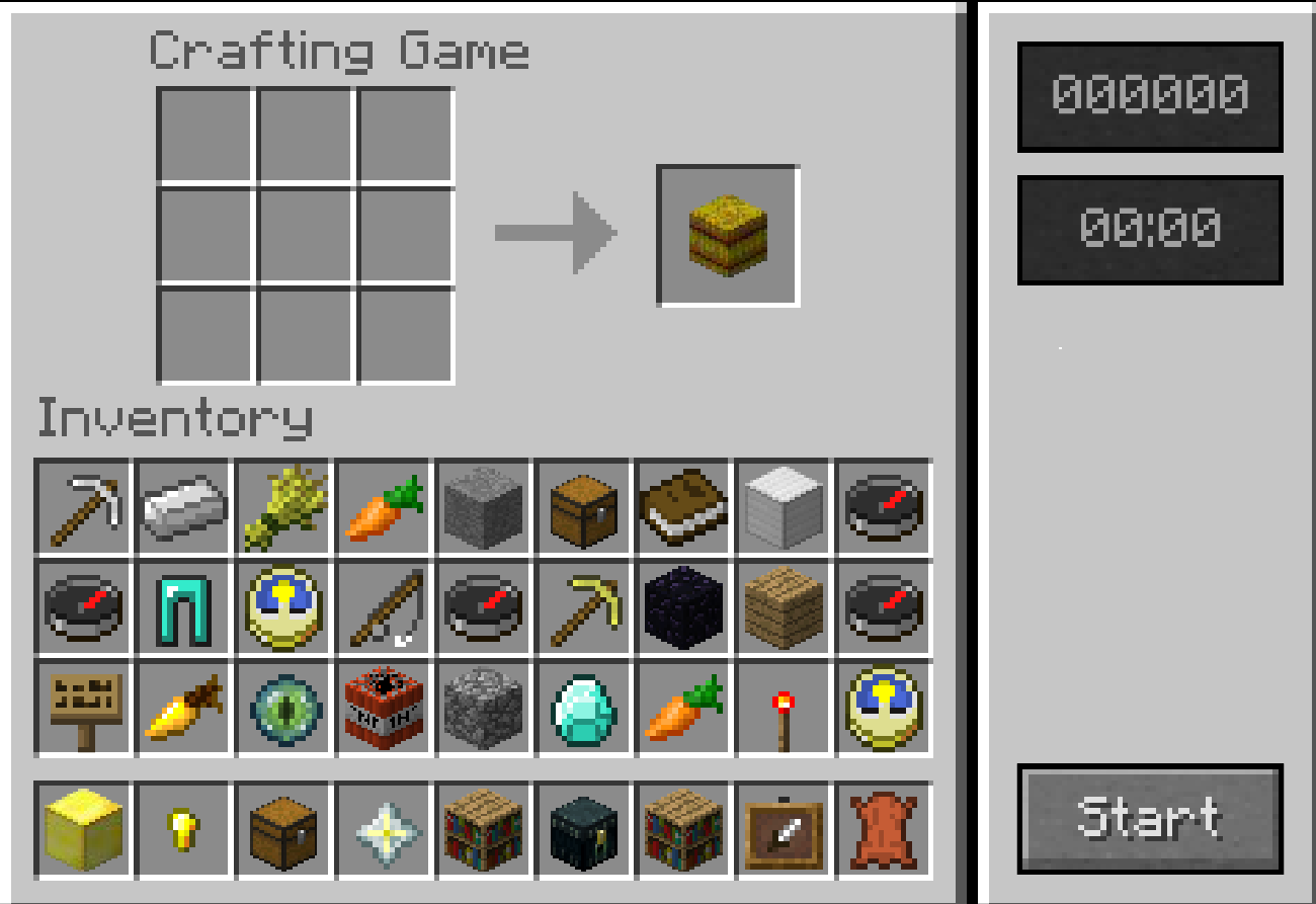 Image Minecraft Crafting